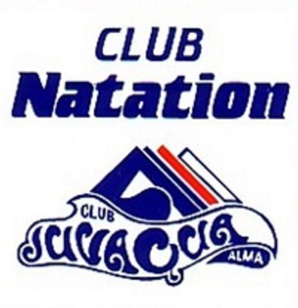 Logo club de natation Juvaqua